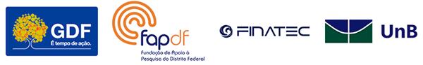 Realização: GDF, FAPDF, Finatec, UnB