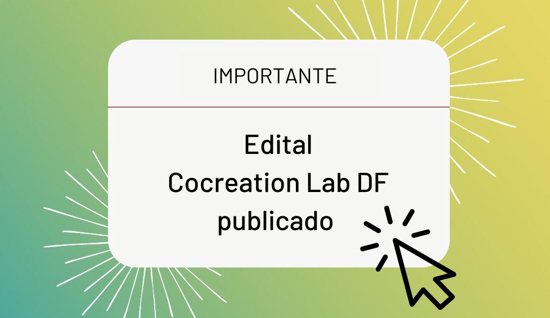 Cocreation Lab irá fortalecer o empreendedorismo na região e está com inscrições abertas
